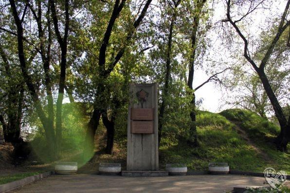 Развалины крепости Верное 1854 г.