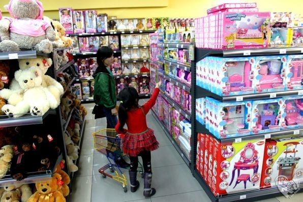 Детский супермаркет Еркемай в ТРК «Maxima»
