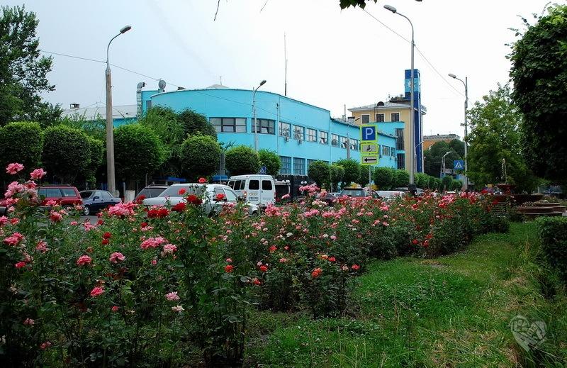 Дом связи(Главпочтамт, сейчас Казпочта). Построено в 1935 г.
