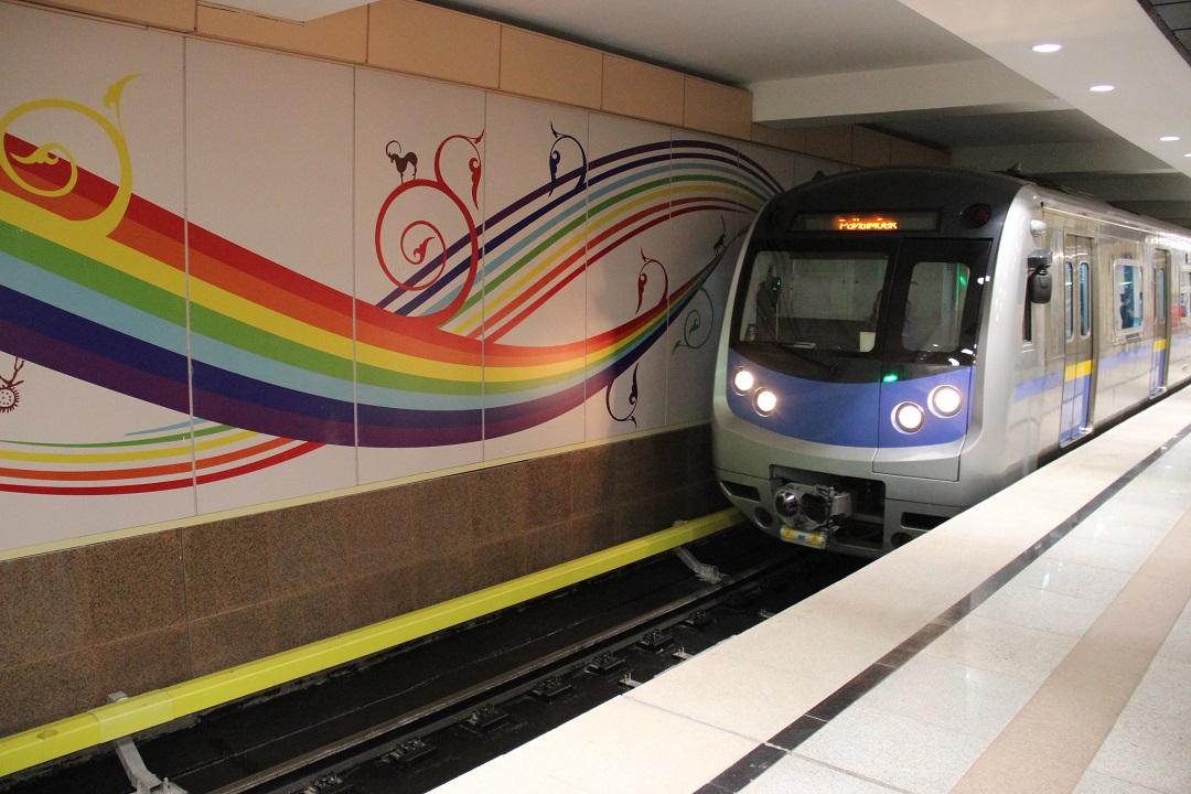 Станция метро Сайран