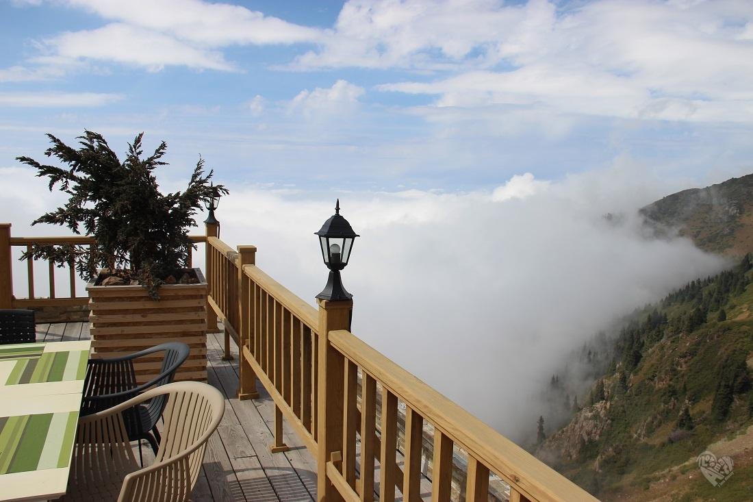 S.N.E.G. над облаками. Поездка на курорт Чимбулак