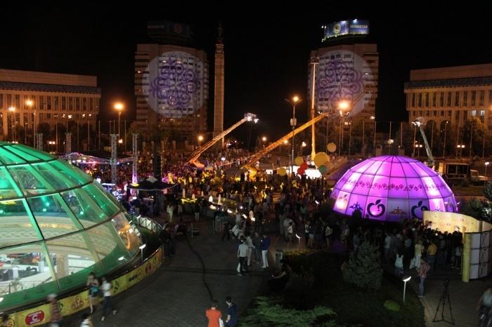 Съемки фильма Елки 3 в Алматы