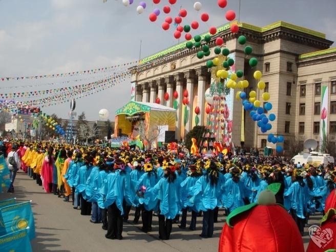 Шествия праздника Наурыз