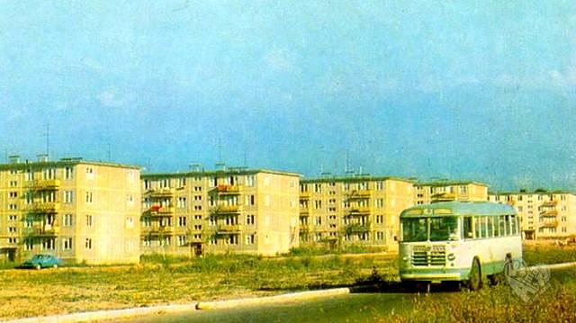 Микрорайоны в 1960-годы.