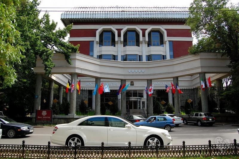 Гостиница «Достык», открылась в 1983 году