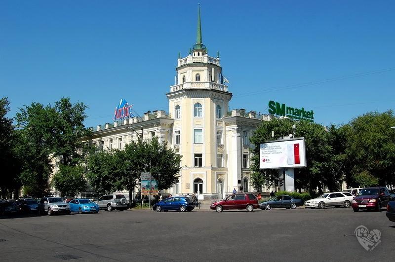 Бывший Казпотребсоюз,дом 1953-1955 г.