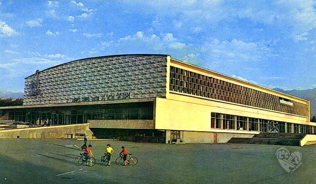 Дворец спорта в старом виде