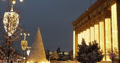 Алматы в снегу 13-14 января 2021г