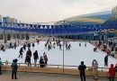Катания на коньках и тюбингах у Almaty Arena