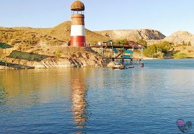 Где находится Капчагайский маяк